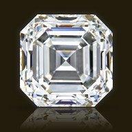 Gia Cert 1.2 Ctw Asscher Diamond F/vvs1