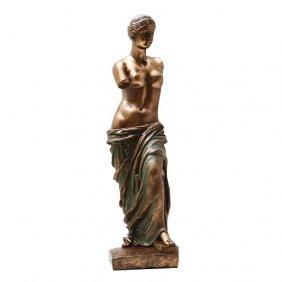 Venus De Milo Cold Cast Bronze Statue