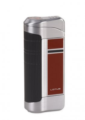 Lotus L42 Wedge Red Triple Torch Flame Cigar Lighter