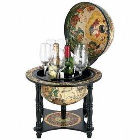 "Kassel 17-1/2"" Diameter Italian Replica Globe Bar"
