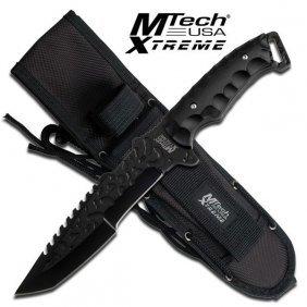 """12"""" Full Tang Fixed Blade Knife W/sheath"""