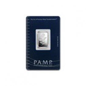 5 Gram Silver Bar - Pamp Suisse (rosa)