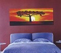 Modern Abstract Art Oil Painting Stretched