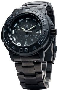 Smith And Wesson Divers Tritium Watch Metal And Rubber