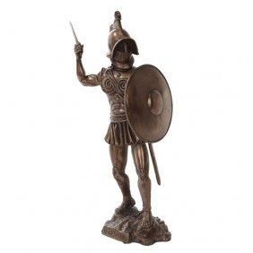 Spartacus Cold Cast Bronze Statue