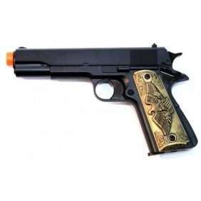 Eagle Design Handle Gas Powered Airsoft Pistol Fps 250
