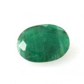 Genuine 2.02 Ctw Emerald Oval Cut