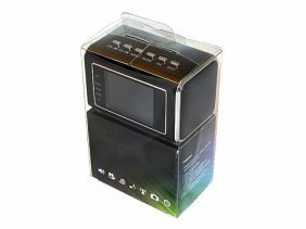 24-hour Surveillance Mini Hidden Spy Camera Clock Porta