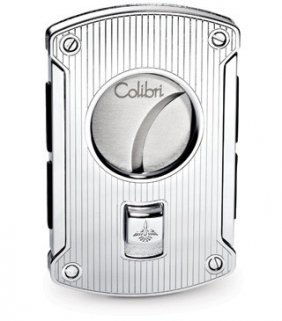 Colibri Slyce Stainless Steel Cigar Cutter