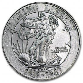1 Oz Silver Round - Walking Liberty