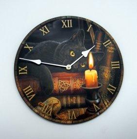 """Lisa Parker Designer Witching Hour Clock 12"""""""