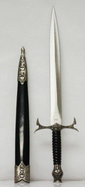Gothic Style Dagger W/sheath