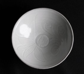 A Chinese Dingyao Porcelain Bowls