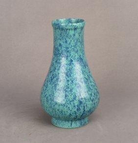 Chinese Robin's Egg Glaze Porcelain Vase, Yongzheng