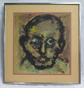 Loren, Abstract Portrait