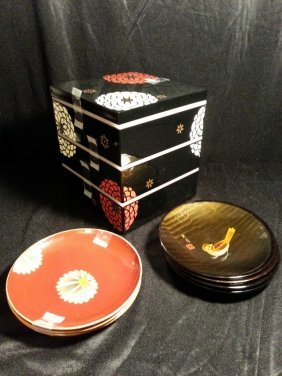Japanese And Lacquer Boxe