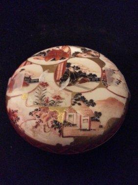Japanese Imari Porcelain Covered Box