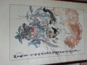 Chinese Hand Painted