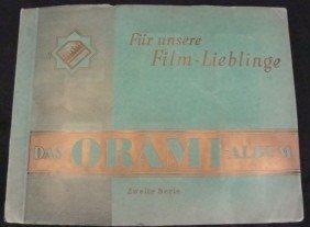 1920's-30's Movie Stars Cigarette Card Album