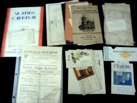 Early Cleveland/Northeast Ohio Paper Lot