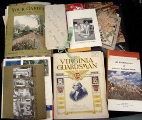 Mixed Paper Lot, Booklets, Catalogs