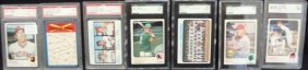 1973 Cleve Indians Graded Cards.  Bell SGC 84, (9)