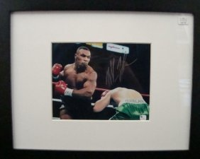 Mike Tyson Autographed 8x10 Framed Photo