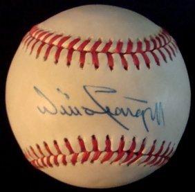 Willie Stargell Single Signed Baseball, JSA