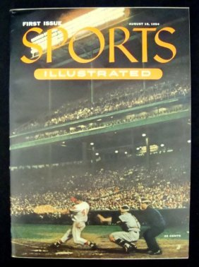 1954 Sports Illustrated First Issue Magazine, NM