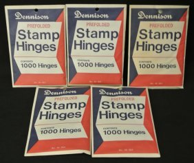 (5)Packs Of Dennison Hinges