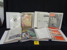 1939 New York World's Fair (4) Binders Of Magazines Lot
