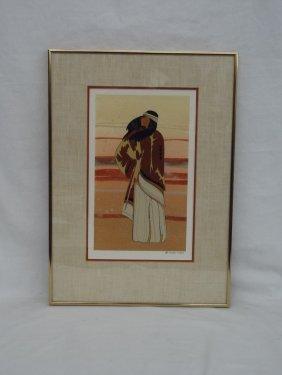 Ojibwa Artist Maxine Noel Original Watercolor Painting