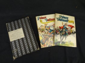 Prince Valiant In The Days Of King Arthur 2 Volume Set