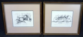 (2) Signed Limited Edition Prints From Timothy Struna