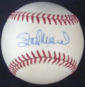Stan Musial Single Signed Onl Baseball