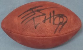 Jj Watt Autographed Wilson Football