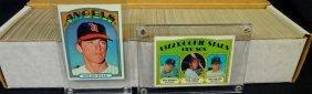 1972 Topps Baseball Complete Set, (787) Cards W Keys,