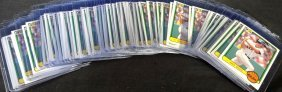 1983 Donruss #586 Wade Boggs Rookie Card, Lot Of (65)