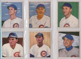 Chicago Cubs 1950's-60's Vintage Baseball Card Lot,