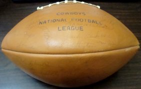 1969 Dallas Cowboys Team Signed Football, (30+)