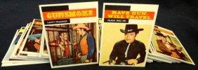 1958 Topps Tv Westerns Complete 71-card Set, High Grade