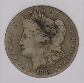 1882cc Morgan 90% Silver Dollar Carson City