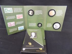 2014 Franklin D. Roosevelt Coin And Stamp Chronicle Set