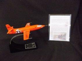 X-1 Rocket Research Plane Chuck Yeager Danbury Mint
