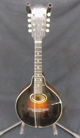Early Gibson Mandolin With Case