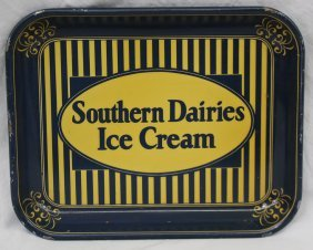 1940-50's Era Southern Dairies Ice Cream Vintage