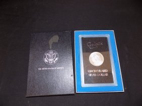 Boxed Gsa 1883-cc Morgan Dollar Brilliant Unc Silver