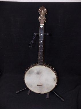 1922 Vega Tenor Banjo Fairbanks Style M 4 String