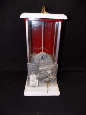 1920's Master 1 Cent/5 Cent Gumball Machine