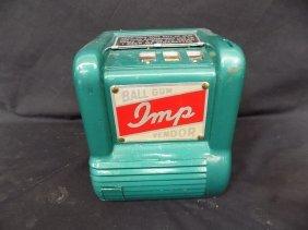 Imp Trade Stimulator Gum Ball Vendor Vintage 1 Cent 3